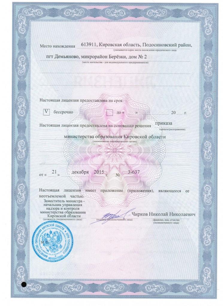 лицензия 2015 г 2 001